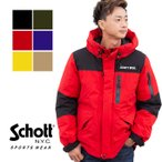 【 Schott ショット 】 2TONE SNORKEL DOWN PARKA 2トーン シュノーケル ダウンパーカー 03182011