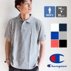 【SALE!!】【 Champion チャンピオン 】 刺繍ロゴ ベーシック ポロシャツ C3-F356 / 20SS