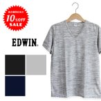 【実店舗閉店処分SALE! ¥3,132⇒¥2,505】【EDWIN エドウィン】サマーストームVネックS/S Tシャツ ET5208