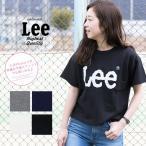 【Lee リー】 Leeロゴ プリント ショート丈 スウェット LS7271