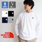 【 THE NORTH FACE ザ ノースフェイス 】 L/S Small Box Logo Tee メンズ ロングスリーブ スモールボックスロゴ ティー NT32139 / 21SS