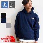 【THE NORTH FACE ザノースフェイス】Square Logo Hoodie スクエアロゴ フーディ メンズ NT62039 / 20AW