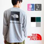 【 THE NORTH FACE ザ ノースフェイス 】 バックプリント スクエアロゴ 長袖Tシャツ NT82035 / 20AW
