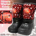 カーズ ディズニー キッズ ブーツ 車 子供 靴 黒 ブラック 赤 レッド DISNEY disney 男の子 かっこいい かわいい スノーブーツ 6685