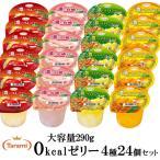 10%OFF&送料無料 たらみ 濃い0kcal290g 4種×各1箱(計4箱)セット(りんご・白桃・パイン・マンゴー)