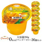 たらみ ゼリー 濃いマンゴーゼリー 0kcal 290g 36個