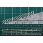 (新発売)FEN-I-2 【HO 1/100】フェンス I-2 よこ型(階段・スロープ(17度)手すり;ペーパー製)2本入り