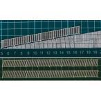 (新発売)FEN-J-1 【HO 1/100】フェンス J-1 たて型(階段・スロープ(10度)手すり;ペーパー製)2本入り