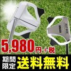 送料無料 パター FLIT-BOX 34インチホワイトパター(センターシャフト+マレット型) ※