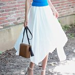 スカート レディース 上品 ハイウエスト ロング丈 aラインスカート 30代 40代 ファッション 高級感 夏  新作 黒