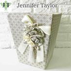 ジェニファーテイラー ダストボックス ごみ箱 布 布張り 高級 おしゃれ かわいい エステ ネイル Lumina Jennifer Taylor 32023DB