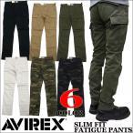 ショッピングカーゴ AVIREX アビレックス スリム カーゴパンツ 6166122