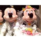 Yahoo!JESUS YUMMY【NEW】 ディズニー・ウエディング・ウェディング・ウェルカムベア・ドール・ミッキー・ミニー☆ぬいぐるみ☆結婚式・結婚祝いに♪ ブライダル ディズニ