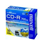 マクセル / データ用CD-R 700MB 10枚 / CDR700S.WP.S1P10S