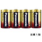 パナソニック/アルカリ乾電池単1形1パック4本/LR20XJ/4SW