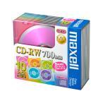 マクセル / データ用CD-RW 700MB 10枚 / CDRW80MIX.1P10S