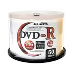 ALL-WAYS / DVD-R 4.7GB 16倍速 50枚