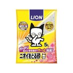 ライオン/ニオイをとる砂 フローラルソープの香り 5L