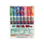 三菱鉛筆/細字ポスカ ラメ入り 7色セット/PC3ML7C