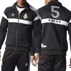 アディダス オリジナルス メンズ レアルマドリッド トラックジャケット ジャージ adidas ORIGINALS Men's Real Madrid Track Jacket Black AX6889