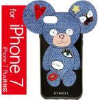 IPHORIA アイフォリア iPhone7 ケース テディー ジーンズ Iphoria Teddy Jeans Patches iPhone 7 Case