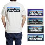 パタゴニア Tシャツ メンズバックプリント 半袖Tシャツ ロゴ 半袖送料無料 Patagonia Men's P-6 LOGO T-Shirt