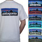 パタゴニア メンズ ロゴプリント 半袖Tシャツ Patagonia Men's P-6 LOGO Cotton T-Shirt