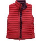 (取寄)ノースフェイス メンズ ストレッチ ダウン ベスト The North Face Men's Stretch Down Vest Rage Red/Fig