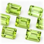 ハイクリアーな結晶から見せる、強くシャープなテリペリドットのリーズナブルストーン