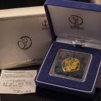 2002 FIFAワールドカップ 記念貨幣 1万円金貨 プルーフ貨幣