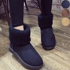 ショッピングムートンブーツ ムートンブーツ ムートン ショートブーツ ブーツ 靴 レディース 秋冬 無地 シンプル カジュアル シンプルブーツ ニットブーツ