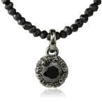 ネックレス メンズ 人気 ブランド Royal Stag Zest ブラックキュービックジルコニア ブラックスピネル モチーフ ペンダント 父の日