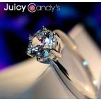 リング 指輪 結婚指輪 ピンキー 大きいサイズ あすつく スワロフスキー SWAROVSKI K18 レディースアクセサリー