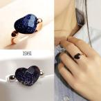 指輪 リング K18 甘い色合いがチャーミングな大人の魅力アピール/満天星リング/指輪/K18/SWAROVSKI