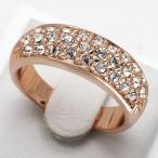 指輪 リング  輝きダイヤモンドCZ彩石 満天星 ファッションリング
