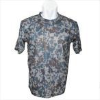 デジタル迷彩Tシャツ 空自色ドライタイプ