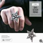 ショッピング指輪 指輪 リング メンズ スター 星 アクセサリー 送料無料 / ビッグスターリング