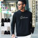 ロンT Tシャツ メンズ ロゴT ロゴプリントTシャツ 長袖Tシャツ アメカジ 春服 春 送料無料