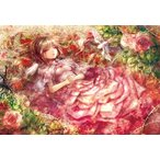 APO-48-759 おにねこ ねむり姫物語 300ピース ジグソーパズル[CP-A]