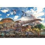 ジグソーパズル BEV-40-007 服部 雅人 恐竜大きさ比べ 40ピース