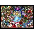ステンドアートジグソーパズル TEN-DSG500-473 ディズニー ふしぎの国のアリス ストーリーステンドグラス 500ピース [CP-D]