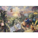 ジグソーパズル TEN-D1000-487 ディズニー Beauty and the Beast Falling in Love (美女と野獣) 1000ピース [CP-D]