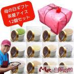 ショッピングアイスクリーム 母の日 アイスクリーム 12個 セット ギフト 自家製アイス 送料込 茶屋アイス カーネーション ラッピング おまかせギフト クーラーバッグ入り