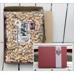 令和2年(2020年)産 新豆  国産 殻つき ギフト セット プレゼント 箱詰 千葉県 八街 Qナッツ  千葉落花生Qナッツ ギフト(から付500g×2)