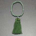 房付き*アベンチュリン数珠10ミリ珠 男女兼用  【RCP】