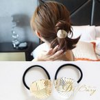 Yahoo!JIMAXBABY半額セール アクセサリー ブレスレット ヘアゴム  金属 シンプル 葉 シルバー ゴールド ファッション雑貨