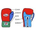 ウイニング 受注生産 ボクシンググローブカラーオーダー8オンスプロ試合用ひも式タイプ CO-MS200