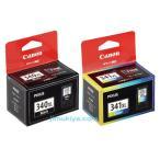 CANON FINE カートリッジ BC-340XL ブラック (大容量) BC-341XL 3色カラー (大容量) セット  国内 純正品 【Canon直送品】