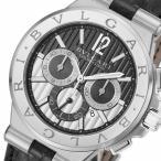ラッピング無料 ブルガリ ディアゴノ カリブロ303 クロノ 自動巻き メンズ 腕時計 DG42BSLDCH