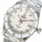 ラッピング無料 オリエント ORIENT 自動巻き ユニセックス 腕時計 SAC0A002W0 ホワイト